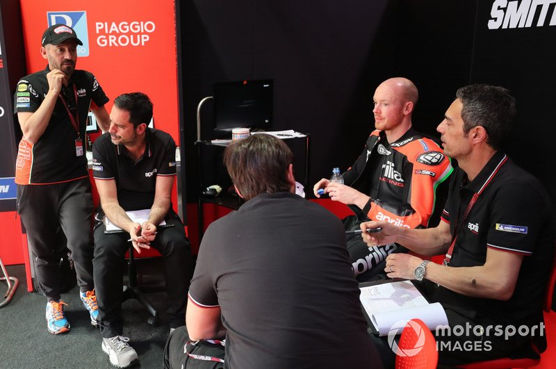 Max Biaggi, Bradley Smith, Aprilia Racing Team Gresini