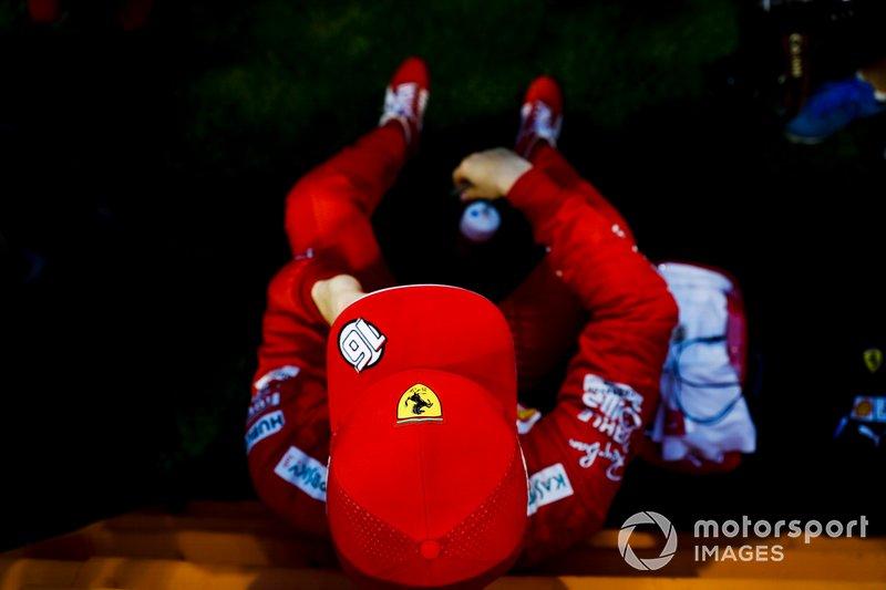 Charles Leclerc, Ferrari in griglia di partenza
