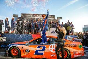 Winner Brad Keselowski, Team Penske, Ford Mustang