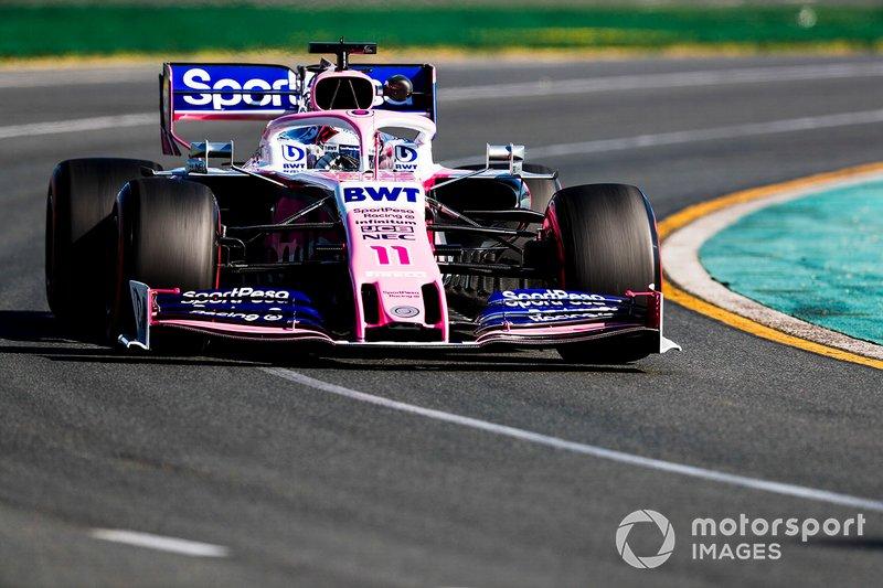 Серхио Перес, Racing Point RP19, 1:22.781