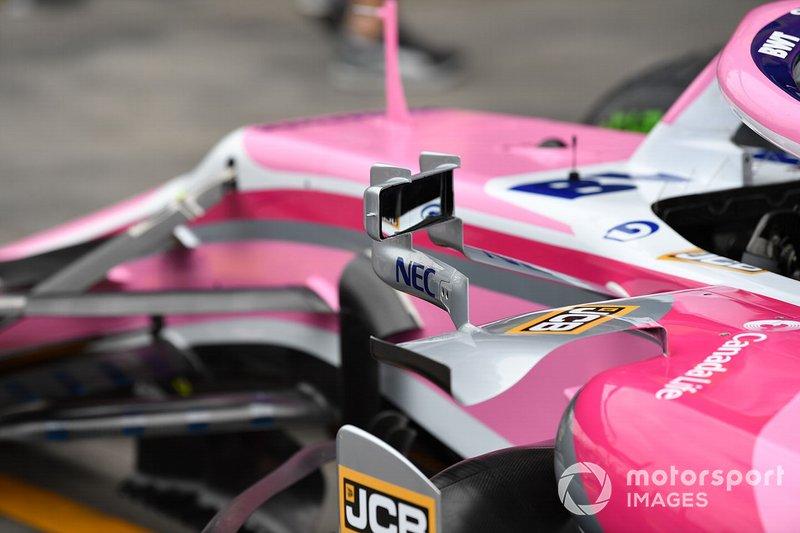 Racing Point RP19: Rückspiegel