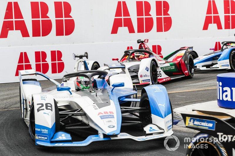 Antonio Felix da Costa, BMW I Andretti Motorsports, BMW iFE.18, Daniel Abt, Audi Sport ABT Schaeffler, Audi e-tron FE05