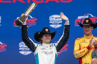 Podium: Colton Herta, Harding Steinbrenner Racing Honda