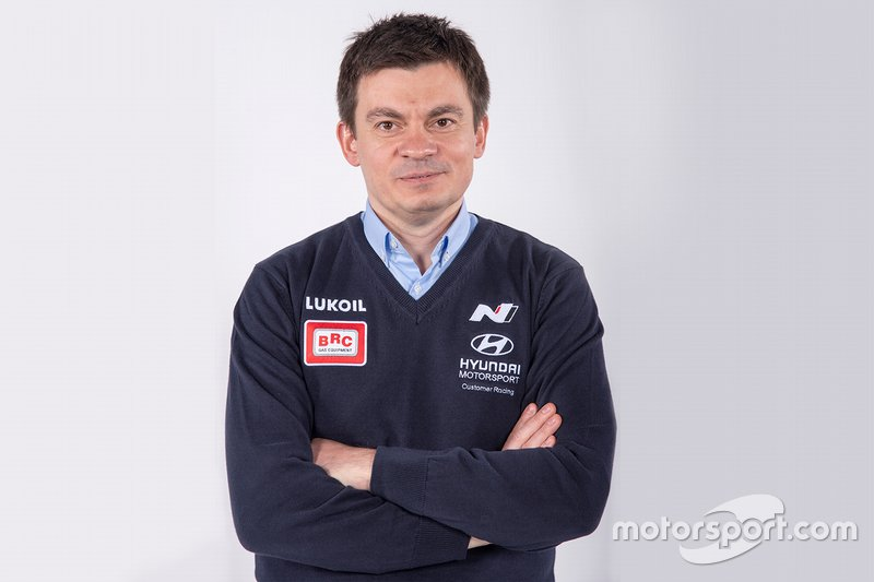 Max Maximenko, Team Manager, Hyundai BRC Team