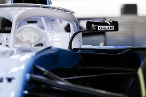 Williams FW42 mirror detail