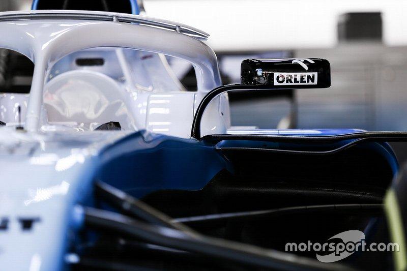Williams FW42 mirror detail