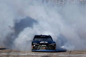 Kyle Busch, Joe Gibbs Racing, Toyota Supra Extreme Concepts/iK9, celebrates his victory