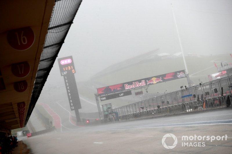 Chuva em Austin