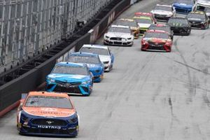 Joey Logano, Team Penske, Ford Mustang Autotrader, Martin Truex Jr., Joe Gibbs Racing, Toyota Camry Auto Owners Insurance