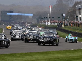 Tony Gaze Trophy, Andrew Keith-Lucas Jaguar XK150