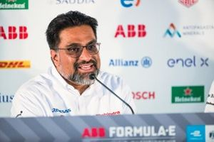Dilbagh Gill, CEO, Team Principal, Mahindra Racing in the press conference