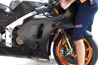 Une moto Repsol Honda Team