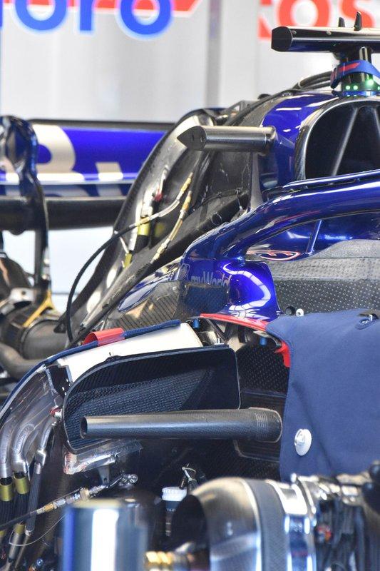 Компоновка Toro Rosso STR14