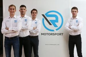 Aston-Martin-Aufgebot von R-Motorsport für die DTM-Saison 2019: Ferdinand Habsburg, Jake Dennis, Daniel Juncadella, Paul di Resta