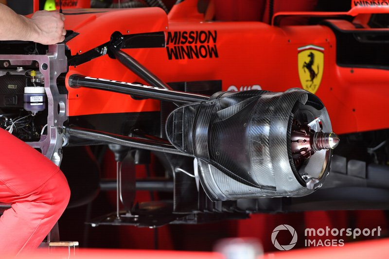 Ferrari SF90 brake cowling