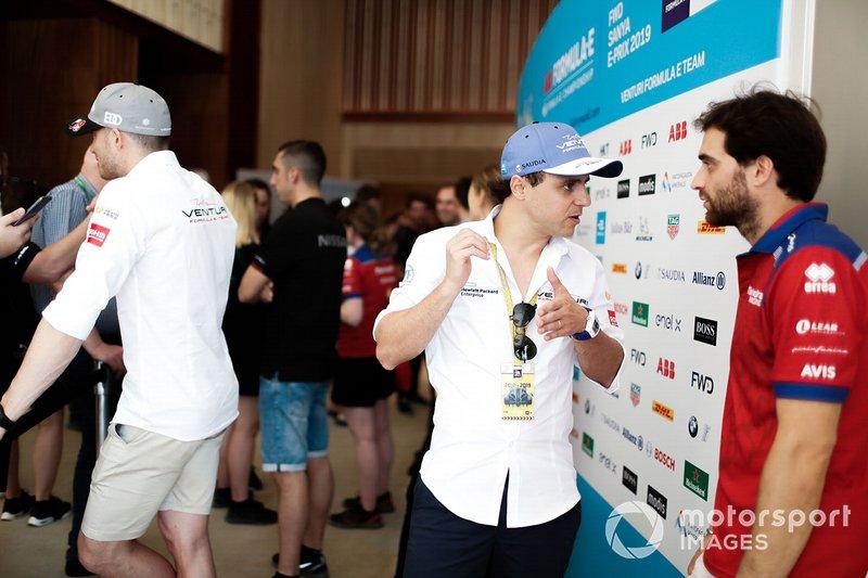 Felipe Massa, Venturi Formula E, Jérôme d'Ambrosio, Mahindra Racing
