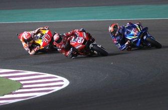 Andrea Dovizioso, Ducati Team, Marc Marquez, Repsol Honda Team, Alex Rins, Team Suzuki MotoGP