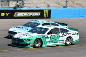 Ryan Blaney, Team Penske, Ford Mustang MoneyLion, Matt Tifft, Front Row Motorsports, Ford Mustang Surface Sunscreen / Tunity