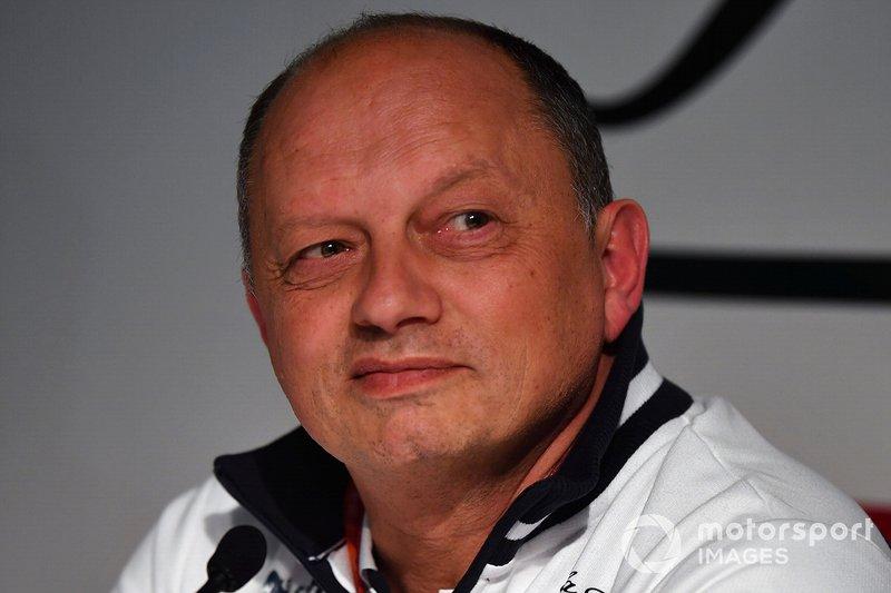 Frederic Vasseur, Team Principal Alfa Romeo Racing