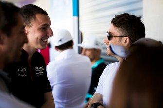 Edoardo Mortara Venturi Formula E talk to Raffaele Marciello, GEOX Dragon, Penske EV-3