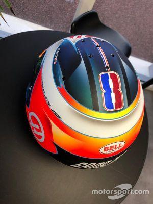 El casco de Romain Grosjean para 2019