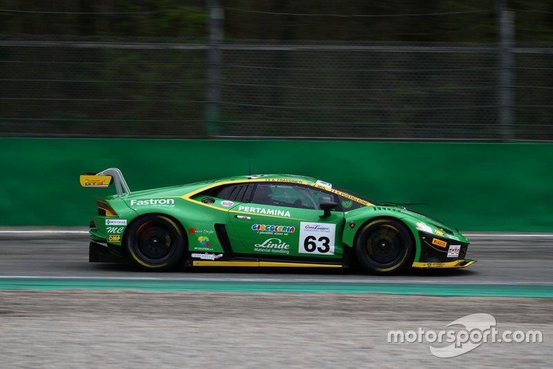 #18 Lamborghini Huracan GT3 Evo GT3 PRO, Imperiale Racing: Postiglione-Mul-Frassineti