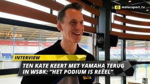 Kervin Bos over terugkeer Ten Kate in WSBK