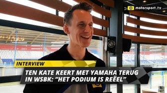 Kervin Bos over terugkeer Ten Kate in WSBK