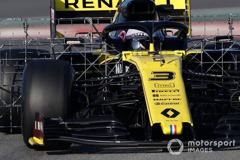 12º Daniel Ricciardo, Renault F1 Team R.S. 19, 1:17.114 (neumáticos C5, día 8)