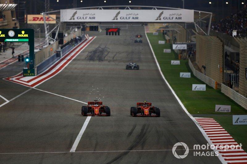 Pole e quase vitória de Leclerc no Bahrein