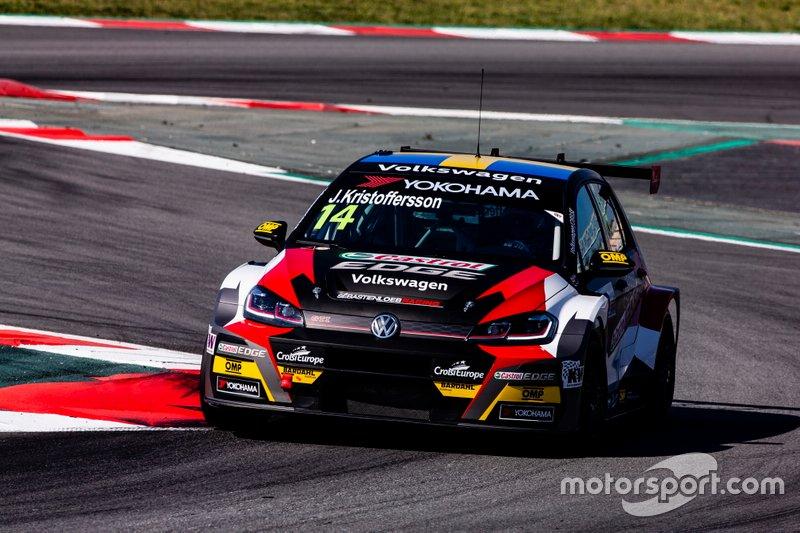 Johan Kristoffersson, SLR Volkswagen Volkswagen Golf GTI TCR