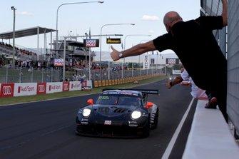 Ganador #912 EBM Porsche 911 GT3-R: Dirk Werner, Dennis Olsen, Matt Campbell