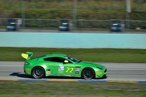 #22 MP2A Aston Martin Vantage GT3 driven by Steven Davison & David Russell of Automatic Racin