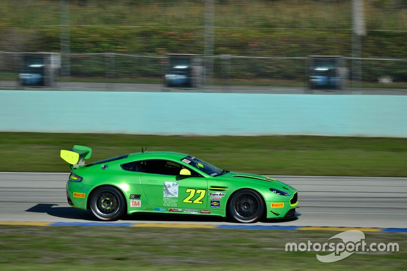 #22 MP2A Aston Martin Vantage GT3 driven by Steven Davison & David Russell of Automatic Racin