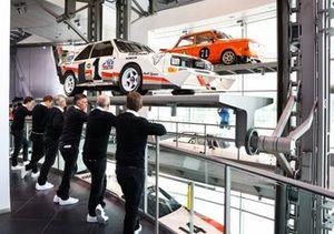 Édouard Boulanger, Stéphane Peterhansel, Lucas Cruz, Carlos Sainz, Mattias Ekström, Emil Bergkvist, Audi Sport