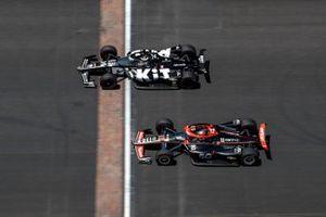Will Power, Team Penske Chevrolet, Sebastien Bourdais, A.J. Foyt Enterprises Chevrolet