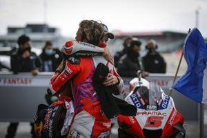 Race winner Jack Miller, Ducati Team, second place Johann Zarco, Pramac Racing
