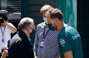 FIA president Jean Todt Sebastian Vettel, Aston Martin
