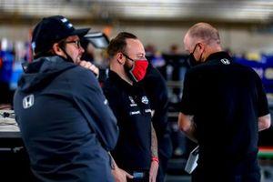 Jack Harvey, Meyer Shank Racing Honda crew