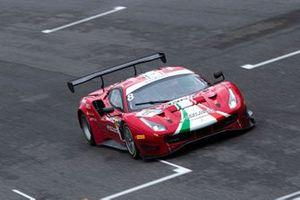 #8 AF Corse, Ferrari 488 GT3 Evo: Carrie Schreiner, Sean Hudspeth