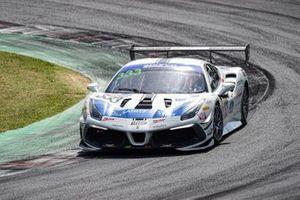 #333 SR&R, Ferrari 488 Challenge: Luca Demarchi, Nicholas Risitano