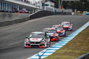 Attila Tassi, ALL-INKL.DE Münnich Motorsport Honda Civic Type R TCR, Jean-Karl Vernay, Engstler Hyundai N Liqui Moly Racing Team Hyundai Elantra N TCR
