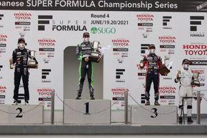 Giuliano Alesi, TOM'S, Teppei Natori, B-MAX RACING TEAM, Hibiki Taira, TOM'S