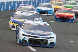 Kyle Larson, Hendrick Motorsports, Chevrolet Camaro MetroTech, Chase Elliott, Hendrick Motorsports, Chevrolet Camaro NAPA Auto Parts