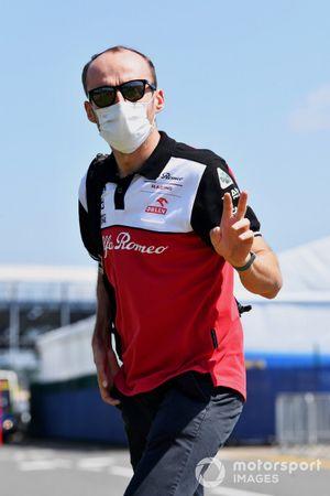 Robert Kubica, Pilote de test et de réserve, Alfa Romeo Racing