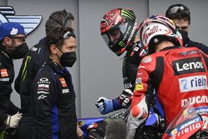 Polesitter Fabio Quartararo, Yamaha Factory Racing, third place Jack Miller, Ducati Team