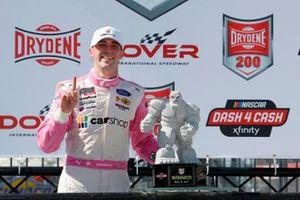 Race winner Austin Cindric, Team Penske, Ford Mustang