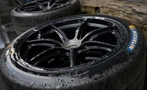 Michelin tyres in the rain