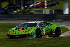 #19 GRT Grasser Racing Team Lamborghini Huracan GT3, GTD: Misha Goikhberg, Franck Perera, Tim Zimmermann