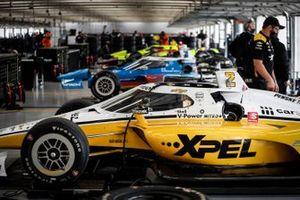 Josef Newgarden, Team Penske Chevrolet, Scott McLaughlin, Team Penske Chevrolet, Will Power, Team Penske Chevrolet, Simon Pagenaud, Team Penske Chevrolet